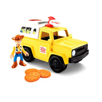 Imaginext Boneco Toy Story Woody Carro Pizza Planet