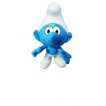 Boneco Brinquedo Smurf Articulável Em Vinil Macio Smurfs