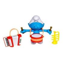 Smurfs - Bonecos Com Acessórios Smurf Músico
