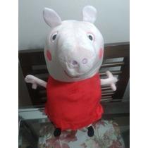 Peppa Pig Vira Almofada +dvd Peppa Pig !linda E Charmosa .