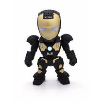 Caixa De Som Boneco Iron Man Homem De Ferro Mp3 Pendrive Fm