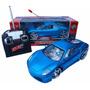 Carro De Controle Remoto Modelo Ferrari Com Luzes 27 Mhz