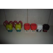 Lote C/ 6 Miniaturas / Bonecos Toonix 2013 Mc Donalds!!!