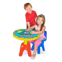 Mesa Com Cadeira Infantil Galinha Pintadinha Lider 2014