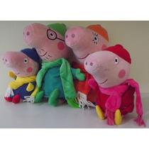 Família Peppa Pig Roupa Inverno / P.entrega-original +dvd
