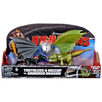Toothless E Soluço Vs Armored Dragon Como Treinar Seu Dragão