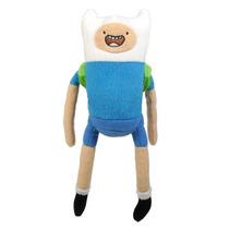 Adventure Time Pelúcia 25 Cm Finn Desenho Cartoon Multikids