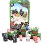 Minecraft Papercraft Animal Mobs Porco Galinha Ovelha Vaca