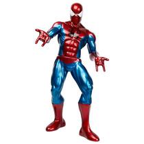 Marvel Boneco Gigante 55cm Homem Aranha Metalizado Premium!