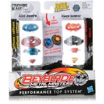 Beyblade Duplo Metal Masters Crushing Blast Original Hasbro