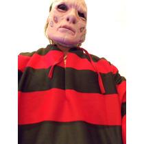Fantasia Do Freddy Krueger Importada Tamanho M Com As Garras