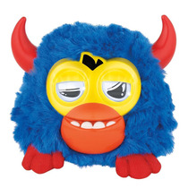 Furby Party Rockers Criatura (azul Escuro Com Chifres)