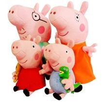 Família Peppa Pig Pacote: Com A Peppa,jorge E Os Pais