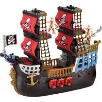 Brinquedo Imaginext Navio Pesadelo Do Mar Parc. S/juros