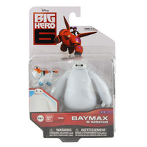 Operação Big Hero 6 Baymax & Mochi Disney Bandai 10 Cm