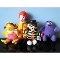 Bonecos Pelucia Coleção Mascote Turma Ronald Mc Donald