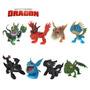 Kit Com 8 Bonecos Como Treinar O Seu Dragão 2 Dragons Rider