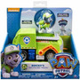 Patrulha Canina Veiculo + Figura Rockys Recycling Truck