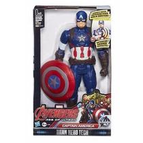 Capitão América Eletrônico 10 Com Frases - Hasbro