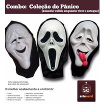 São 3 Mascaras Halloween Festa Fantasia - Coleção Do Panico