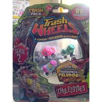 Trash Wheels Blister Com 4 Série 2 Chulezóides
