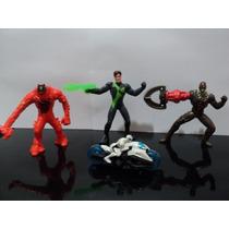 Coleção Max Steel Mattel Lote 4 Bonecos - Mc Donalds !!!