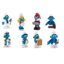 Smurfs Office Set 2015 - Miniaturas Importadas Schleich