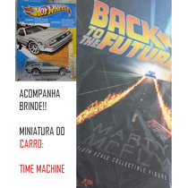 Hot Toys Volta Futuro Marty Mcfly Back The Future + Brinde