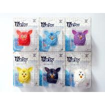 Oferta! Mini Figuras Furby Hasbro Kit C/ 6 Cores - Novo