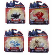 Como Treinar Seu Dragão - 4 Mini Dragões Banguela Tempestade