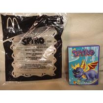 Brinquedo Coleção Spyro Jogo Dragão Mc Donalds Lacrado