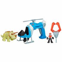 Jurassic World Playskool Helicóptero De Caça B0534 Hasbro