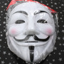 Máscara V De Vingança Guy Fawkes Anonymous Vendetta