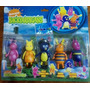 Backyardigans - Kit Com 5 Bonecos - Pronta Entrega + Brinde