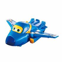 Super Wings Jerome - Mini Change Em Up! Avião Que Vira Robô