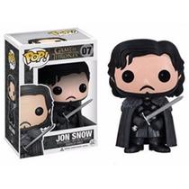 Boneco Jon Snow Game Of Thrones Pop 07 Funko