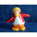 Boneco Pinguin Club Vermelho Original Usado Sem A Moeda 7cm