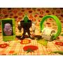 Lote 3 Brinquedos Burger King Desenho Tv Globo Danny Phantom