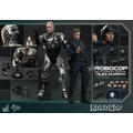 Hot Toys Set Robocop & Alex Murphy Peter Weler Battle Damage