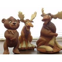 Irmão Urso - Coleção Com 3 Personagens Do Desenho Da Disney