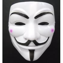 Máscara V De Vingança Anonymous Lote Com 5 Melhor Preço