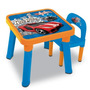 Mesa Com Cadeira Hot Wheels 69270 - Fun Toys
