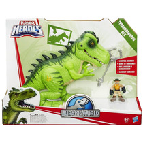 Dinossauro T-rex C/ Luz E Som Play Skool Heroes