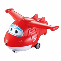 Super Wings Jett - Mini Change Em Up! Avião Que Vira Robô