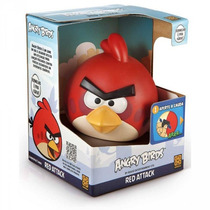Boneco Angry Birds - Red Atack - Original Grow - Eletronico