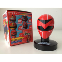 Sentai Maskman Mini Capacete Tokusatsu Bandai Original Red