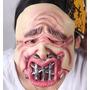 Máscara Látex Fantasia Halloween Boca Costurada Pronta Entre