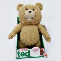 Ted Urso De Pelúcia Filme Com Som 12 Frases - 38cm