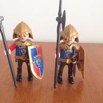 Playmobil Medieval Soldado Lions Azul