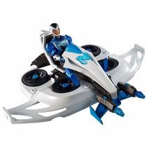 Boneco Max Steel - Max E Veículo Transformador Mattel 7886-3